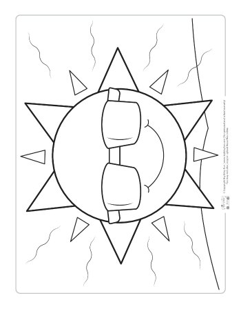 Weather Coloring Pages For Kids Itsybitsyfun Com Summer Coloring Pages Sun Coloring Pages Kids Printable Coloring Pages