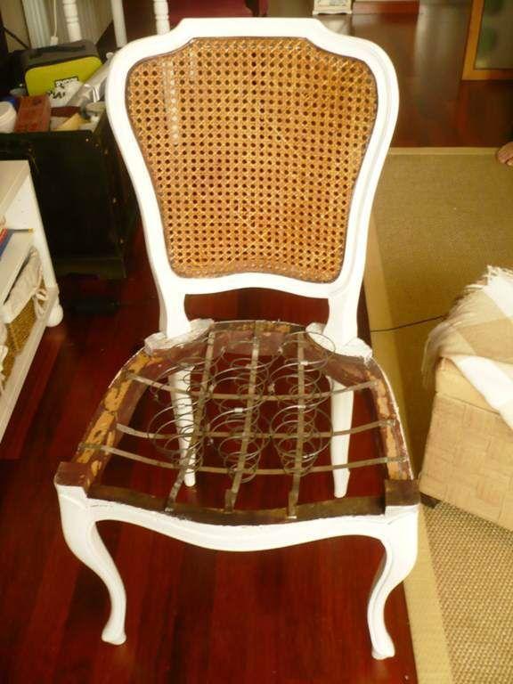 Como tapizar silla de Muelles | Consejos / tips | Pinterest | Como ...