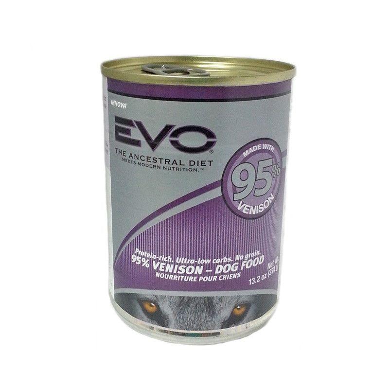 Evo 95 venison venison dog food recipes canned dog food