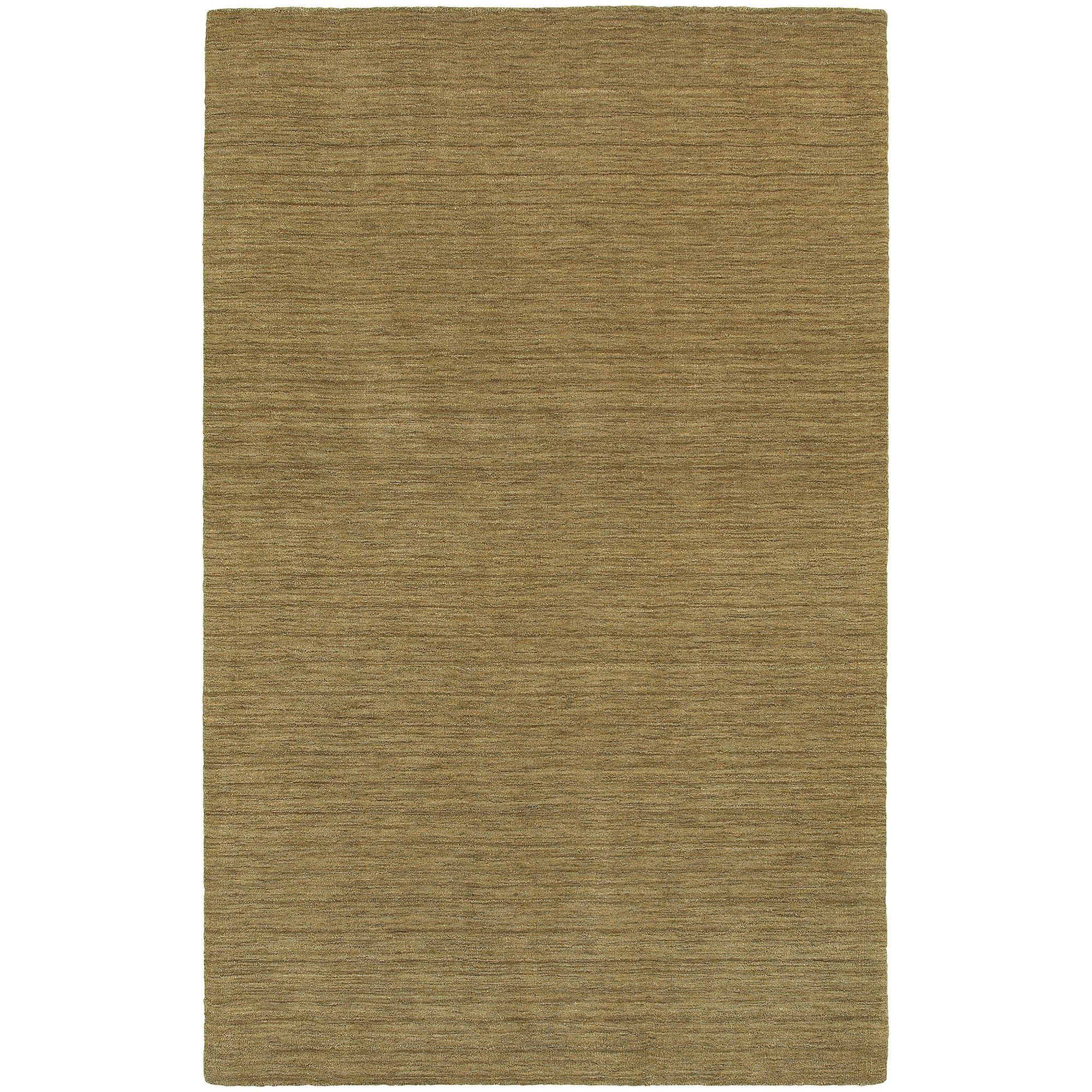 Chandler Hand Woven Heathered Gold Area Rug