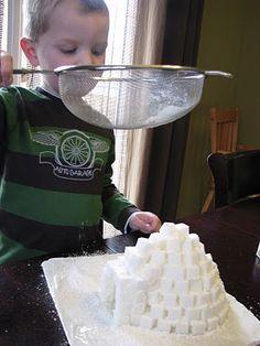 Make igloo house school project