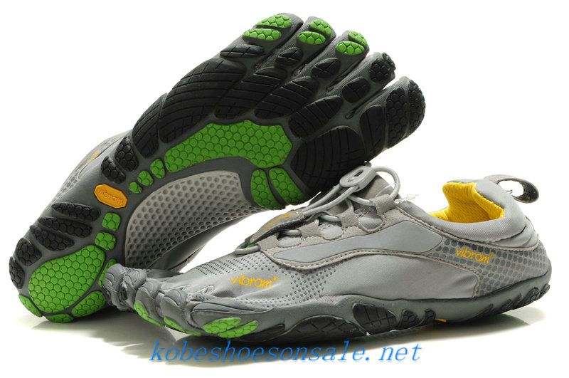 promo code 99829 1060c Vibram FiveFingers Bikila Womens Ls Shoes Grey Green Black