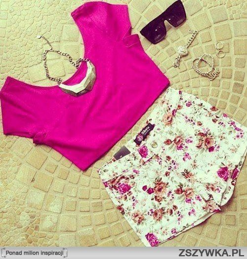 Cute girly summer outfit with a bit of edge;) The Fashion ...
