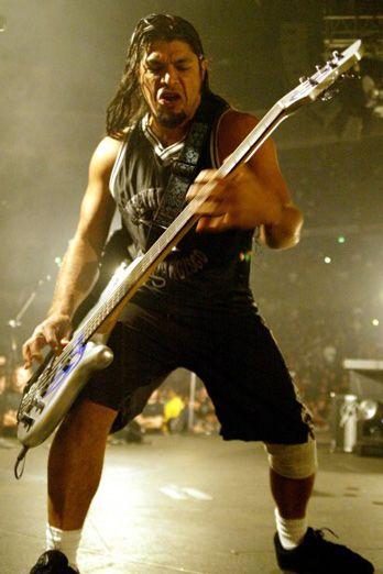 Robert Trujillo Uk Guns N Roses Vintage Guitar Endorsee
