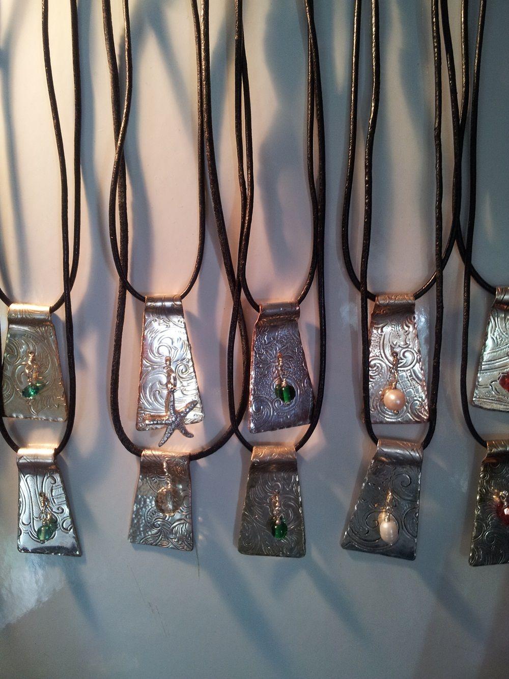 Made From Old Silver Trays Things Hazel Glass Eye Wire Wrap Pendant By Kimsjewels On Etsy Silverware Jewelry Cutlery Art Metal
