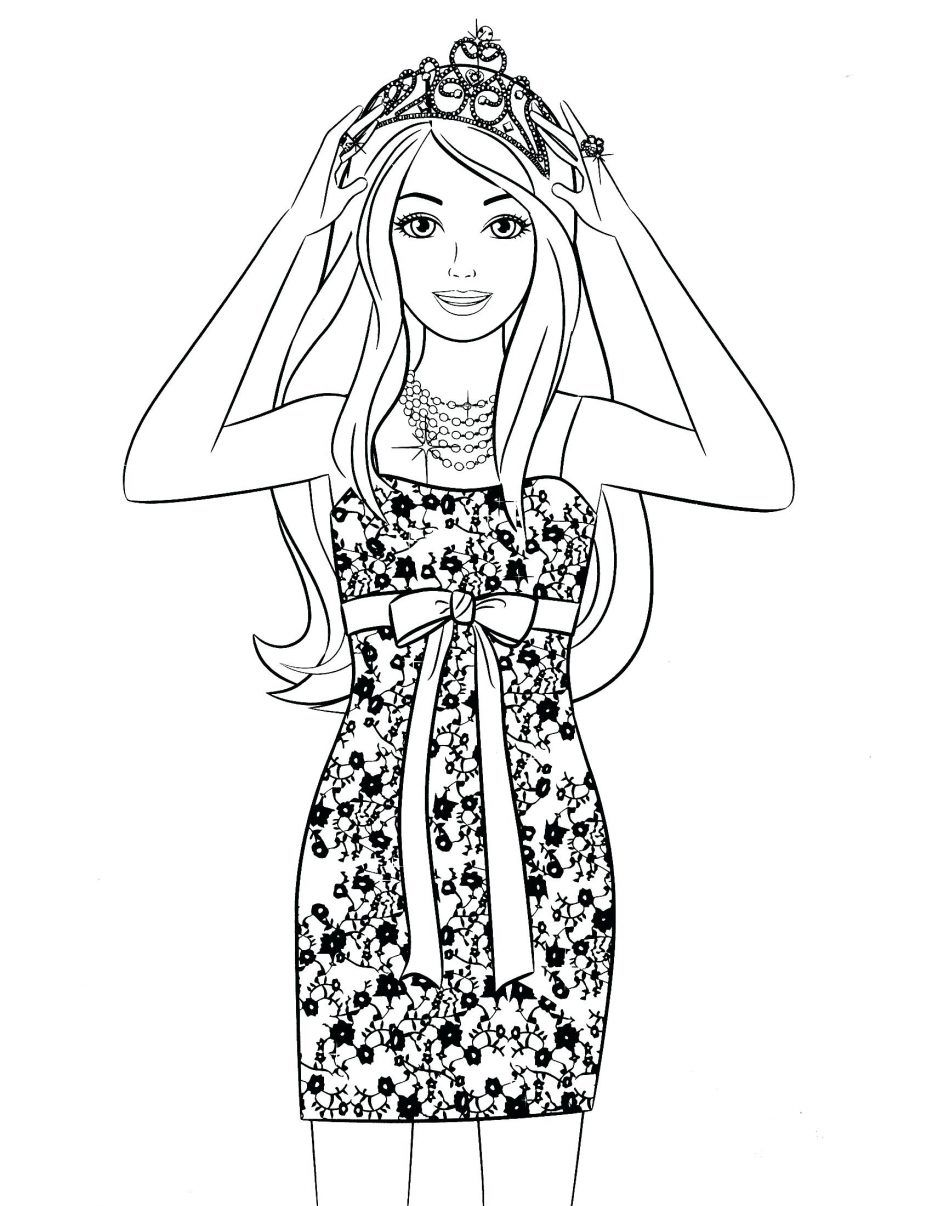 Coloring Pages Barbie Coloring Pages Games Download Old Fashion Princess Girls Page Barbie Col Barbie Coloring Pages Barbie Coloring Coloring Pages For Girls