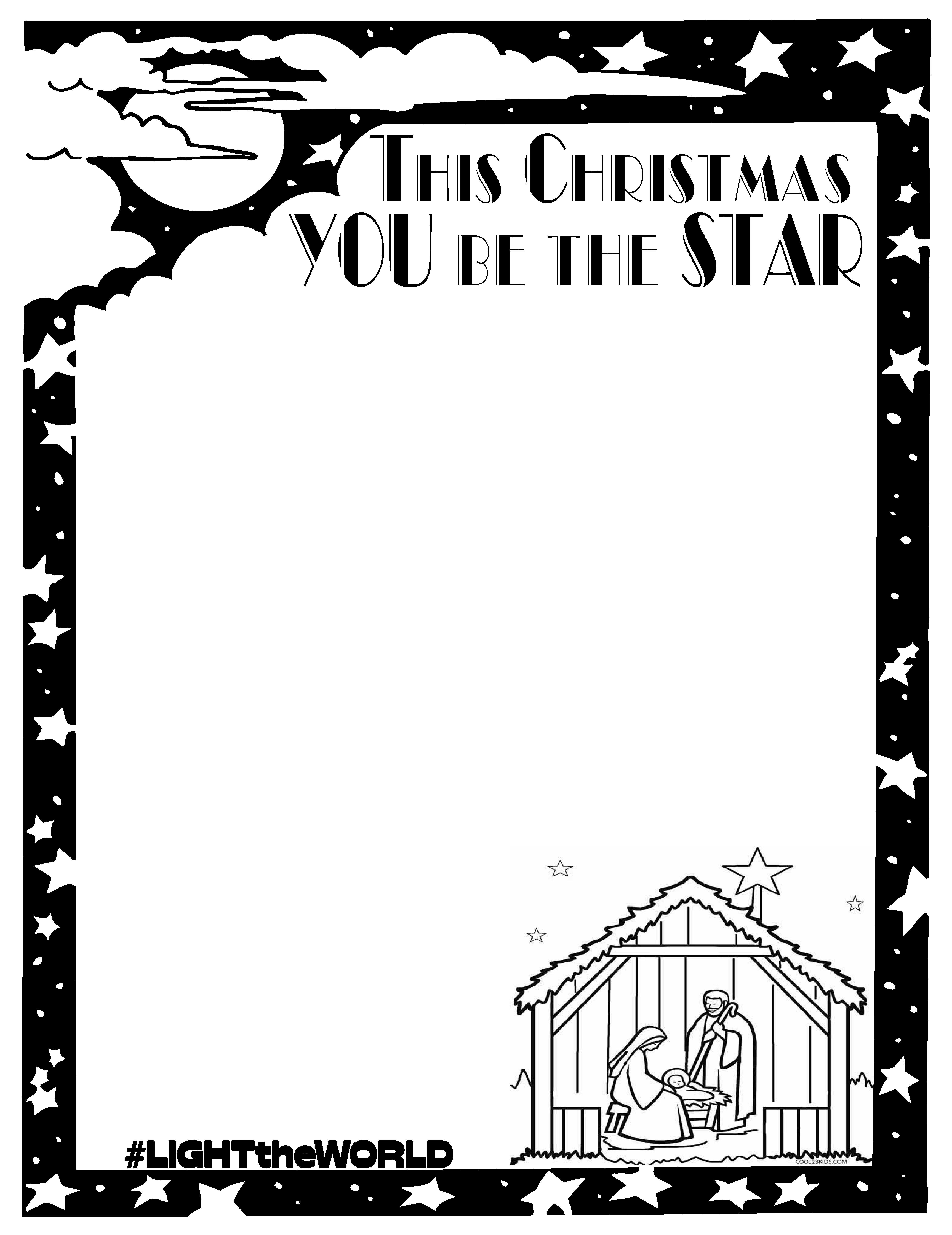 Lds Light The World A Worksheet That Can Be Used For The