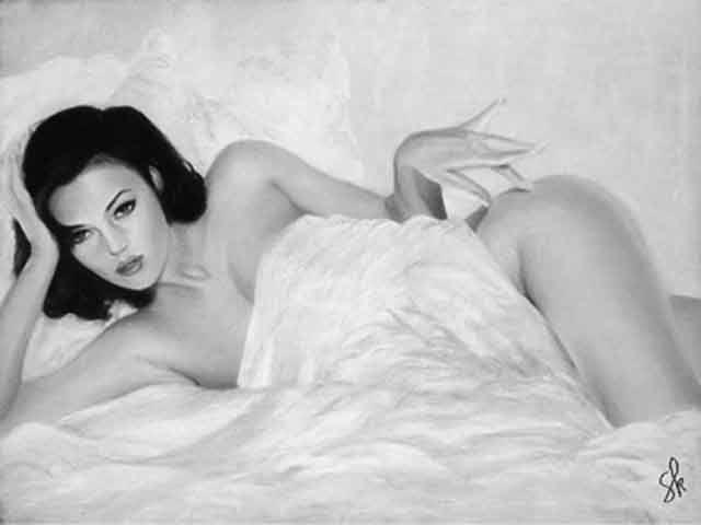 photo charme femme nue