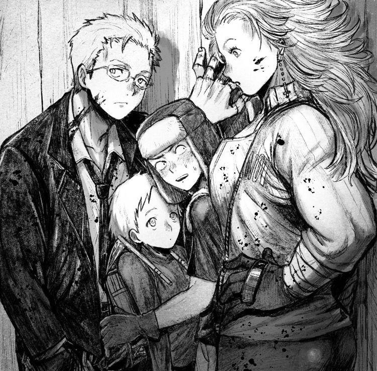 Shin, Ebisu, Fujita & Noi [Dorohedoro] in 2020 Anime