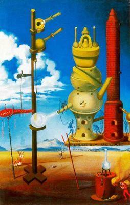 El alquimista (1962) Salvador Dalí - Óleo sobre lienzo. Colección Société Roussel-Uclaf. París. Francia.