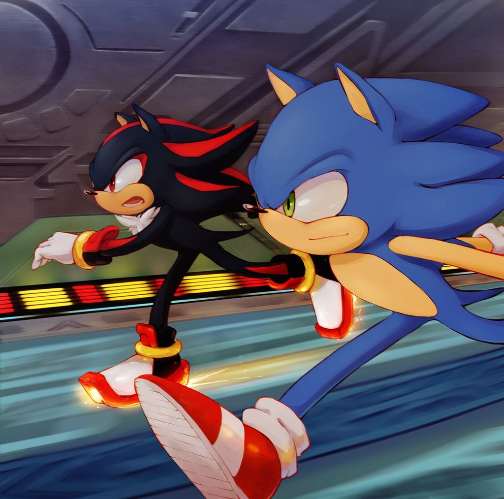 Shadow in Sonic 1 | archive sonic and chip by nightstorm10sock 3 ヶ月 前 34 notes sonic ...