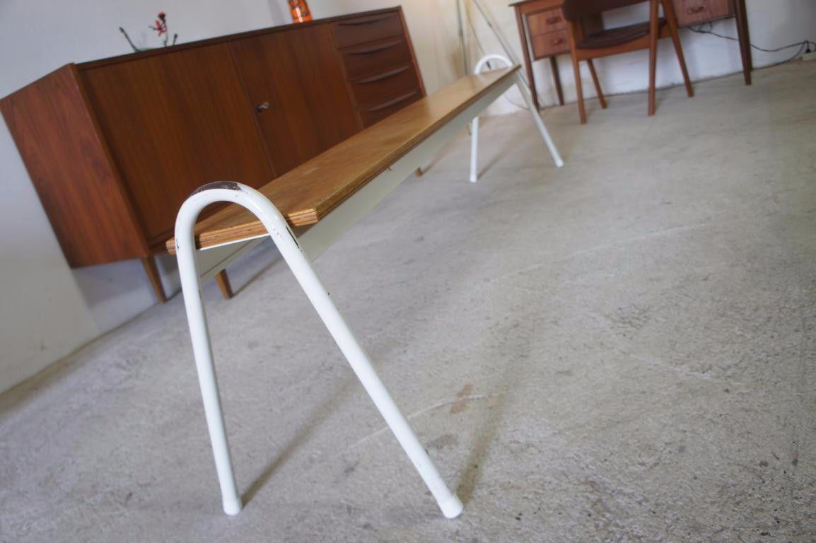 Fresh Bench Sitzbank Bank Design Willy Van der Meeren f r TUBAX er er Jahre