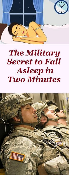The Military Secret to Fall Asleep in Two Minutes  - Health and Fitness - #Asleep #Fall #Fitness #He...