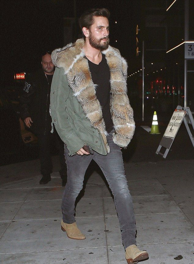 Scott Disick Out At The Nice Guy Wears Ermanno Scervino