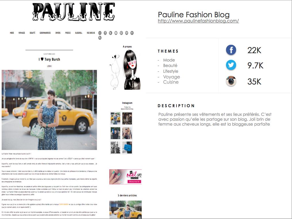 http://www.paulinefashionblog.com/en/ #YkoneNetwork
