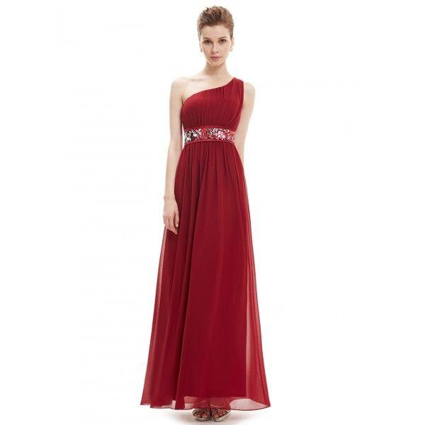 Vínově červené večerní šaty antického střihu  d311dc0aad