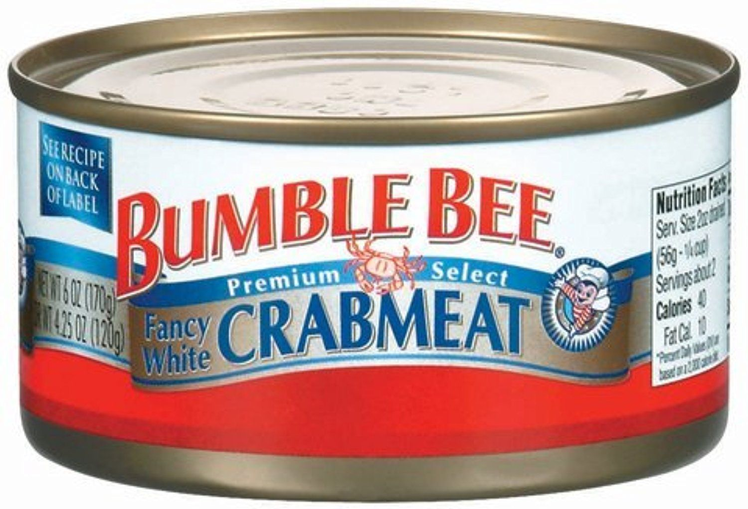 Bumble Bee Fancy White Crabmeat, 6 oz by Bumble Bee -- Awesome ...