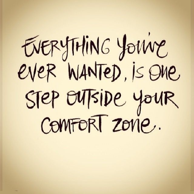 Step Outside Your Comfort Zone Life Quotes Quote Instagram