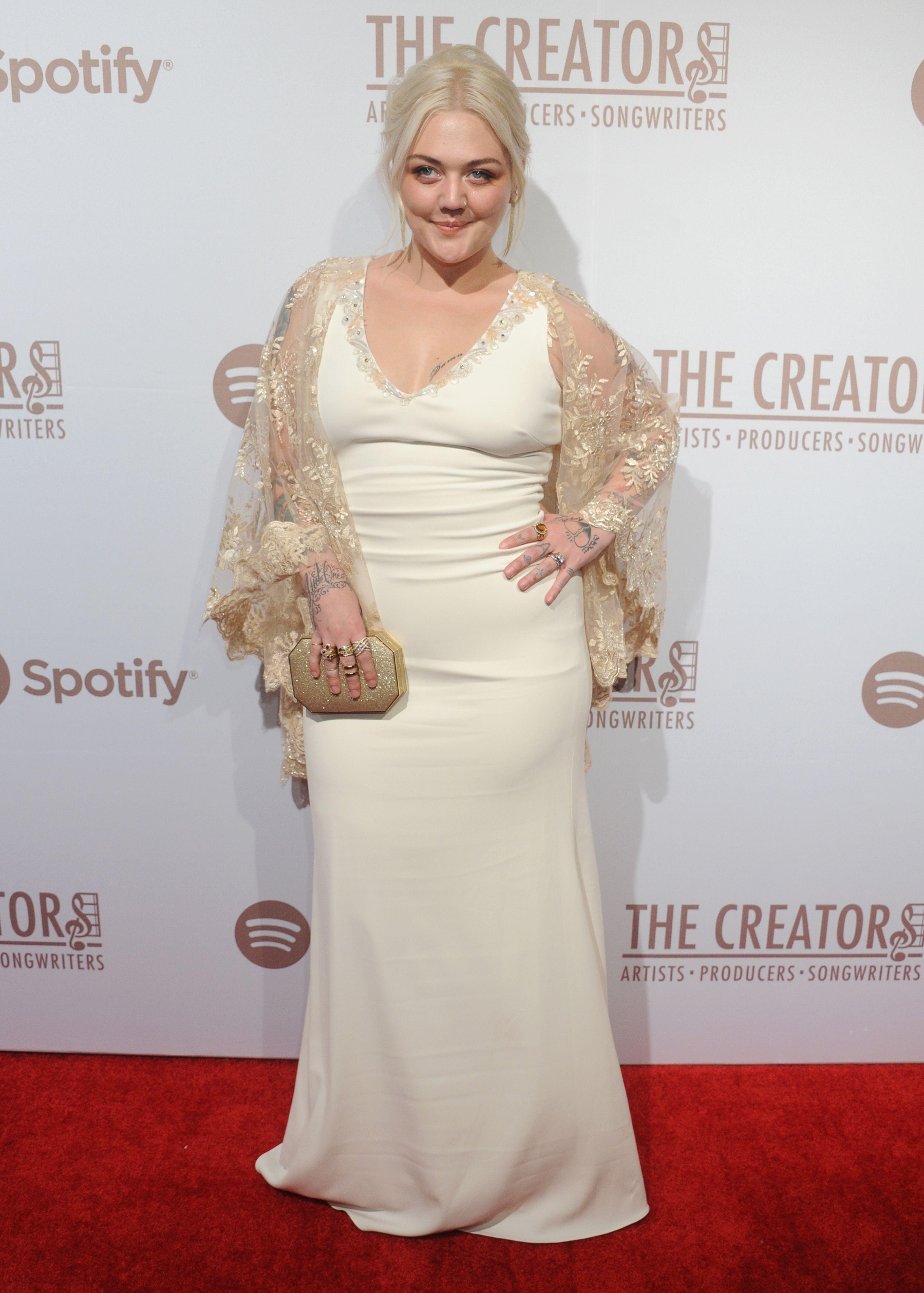 Elle King Wedding Dress : wedding, dress, Looks, Perry's, Spotify, Creators, Party, Fashion,, Curvy