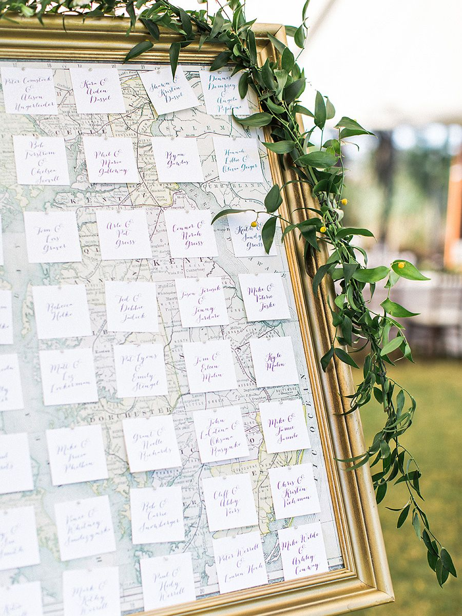 Wedding decorations list  Wedding reception photo list the escort card display  Weddingggggg