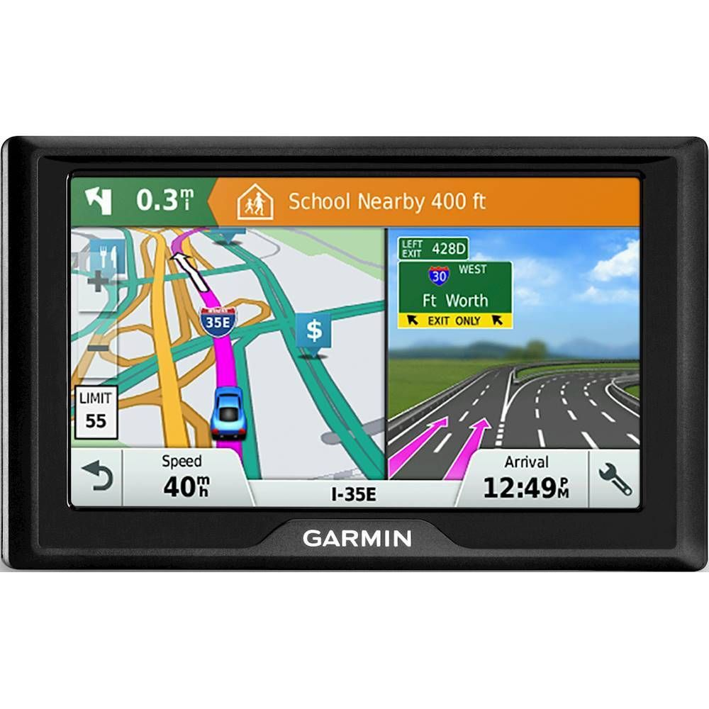 "Garmin Drive 51LM 5"" GPS with Lifetime Map Updates"