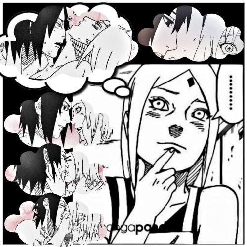 Sakura, we all know what you were REALLY thinking of. Sarada was right, don't try to play it off. xD