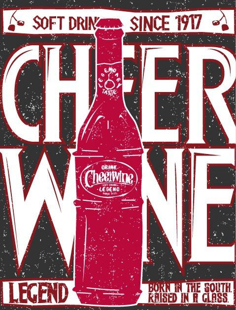 Legendary piece of Cheerwine artwork created by a legendary fan!