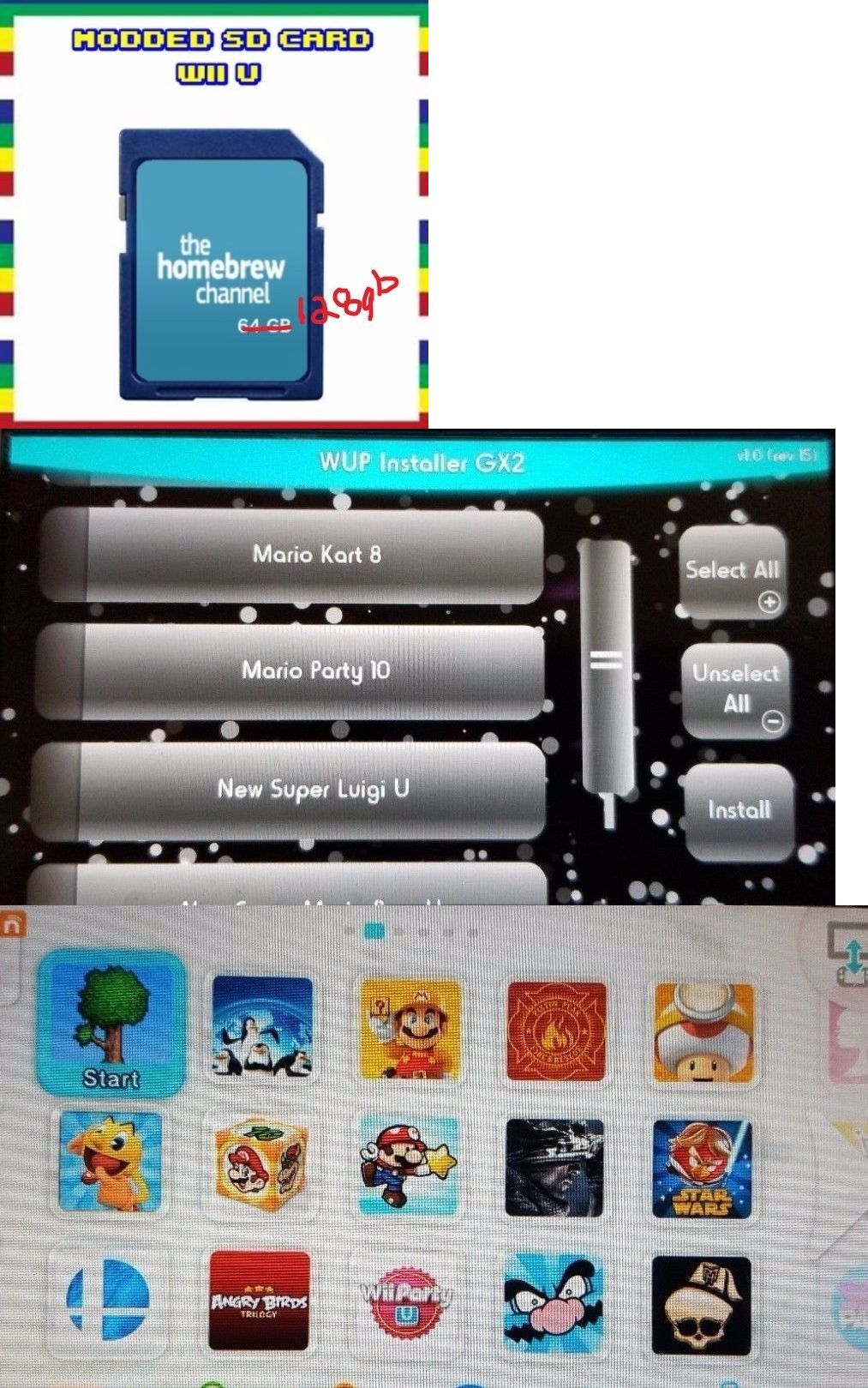 Wii channel on wii u