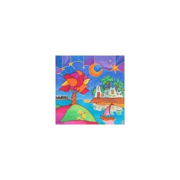 Arte de pintura en seda My Silky Way: cuadros modernos e infantiles ...