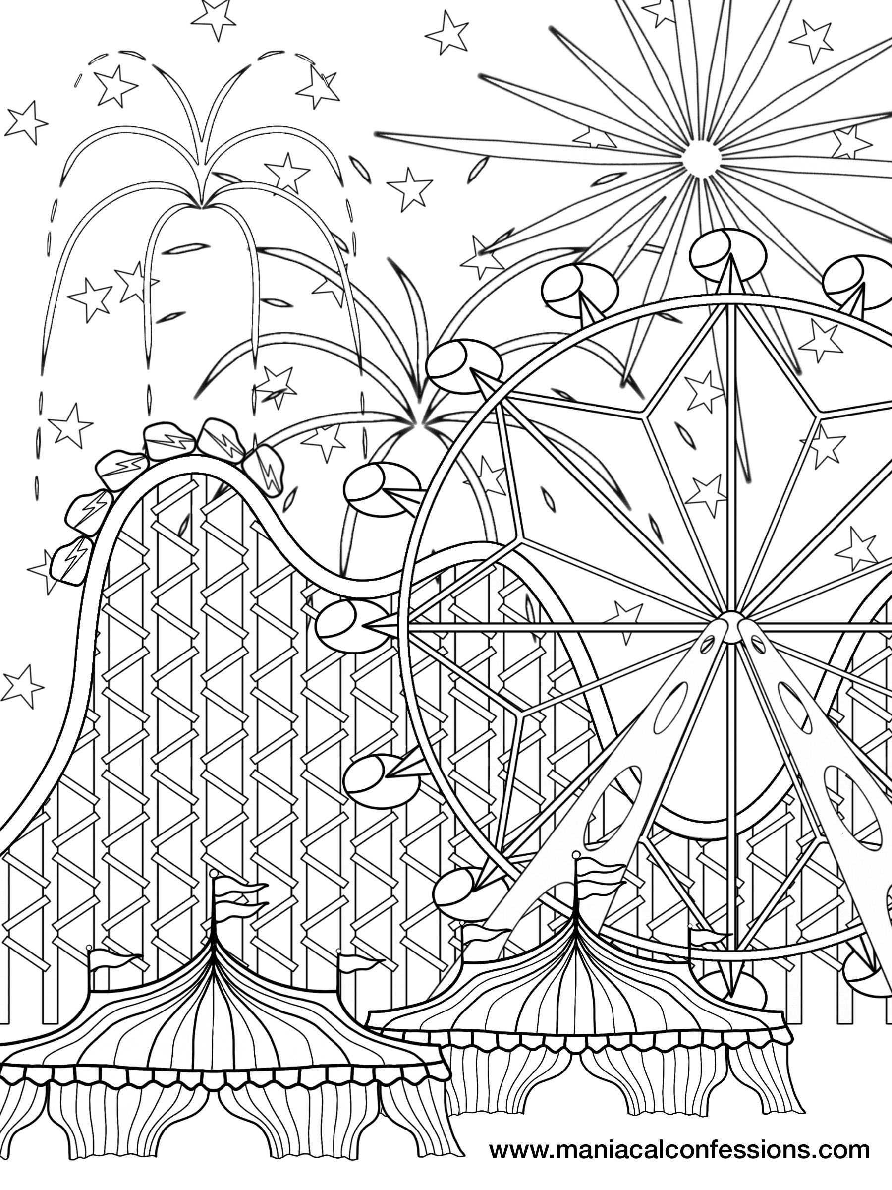 FREE DOWNLOADABLE PICS! | Maniacal Confessions | Coloriage DECOR ...