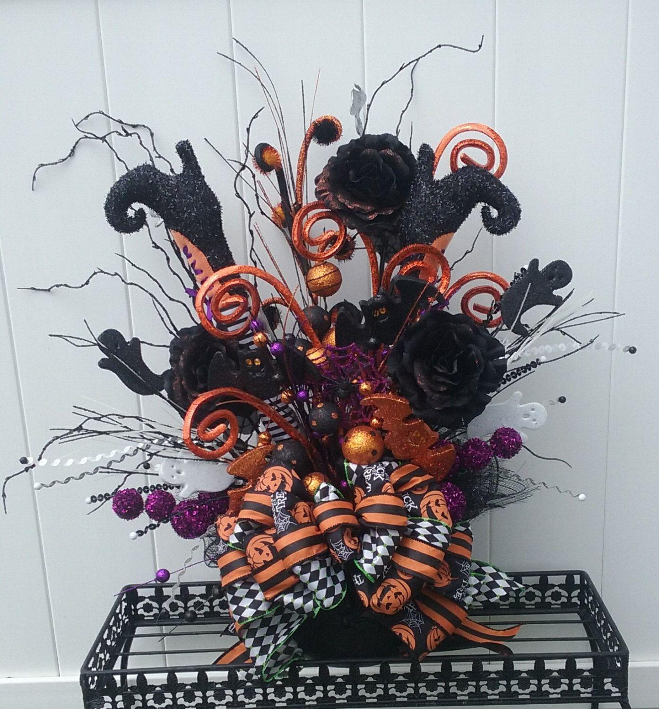 halloween ideas - Halloween Center Pieces