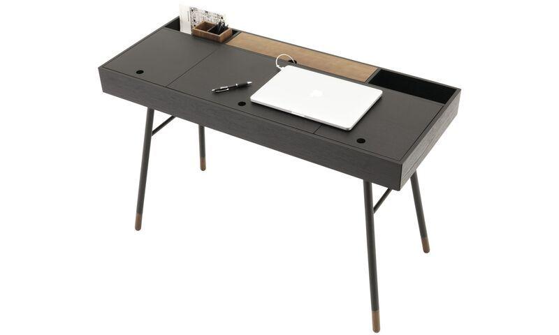 Statement Furniture Cupertino Desk Modern Home Office Desk Contemporary Desk Desk Design