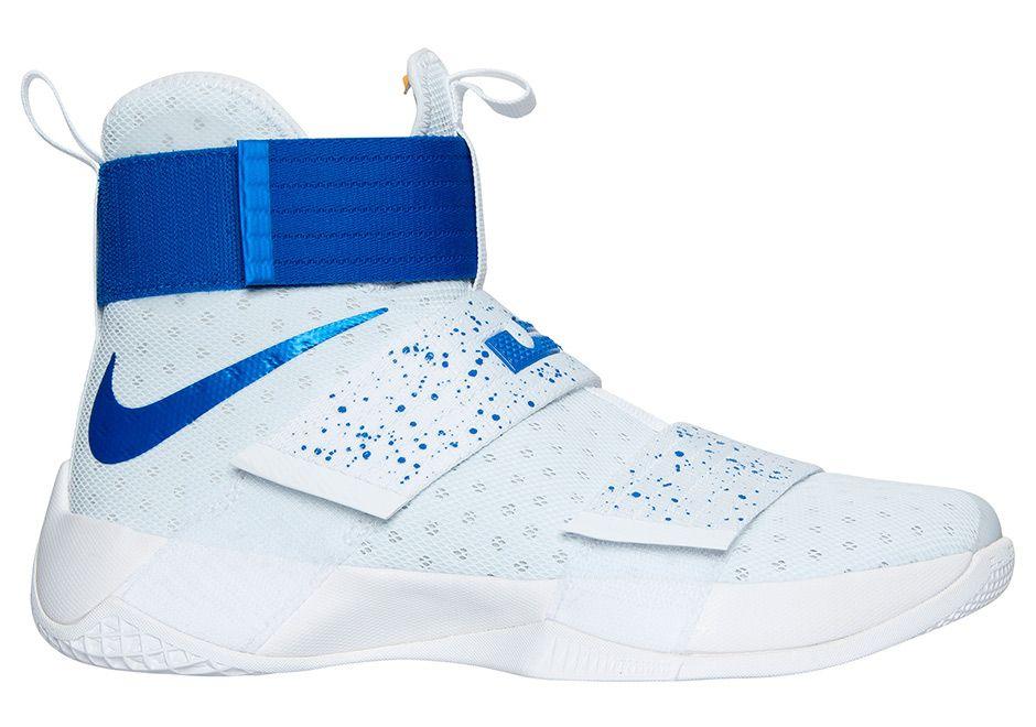 Release Date: Nike LeBron Zoom Soldier 10 Hyper Cobalt