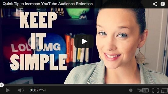 Quick Tip to Increase YouTube Audience Retention [VIDEO] So many YouTubers make this mistake. Get to the meat and potatoes of the content before you go on and on about YOU!!