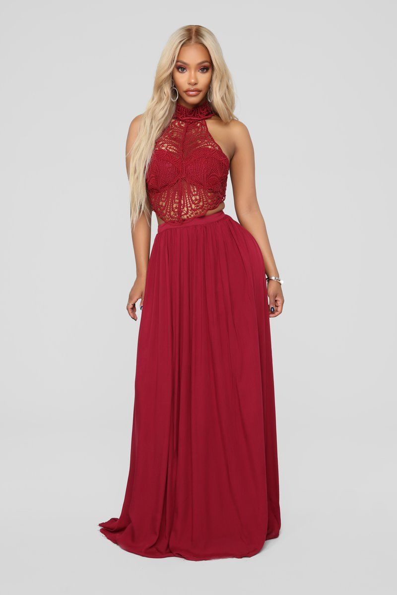 Andromeda Dress In Wine From Fashion Nova Pinterest Samanthafenechh Dresses Red Dress Maxi Fashion [ 1200 x 800 Pixel ]