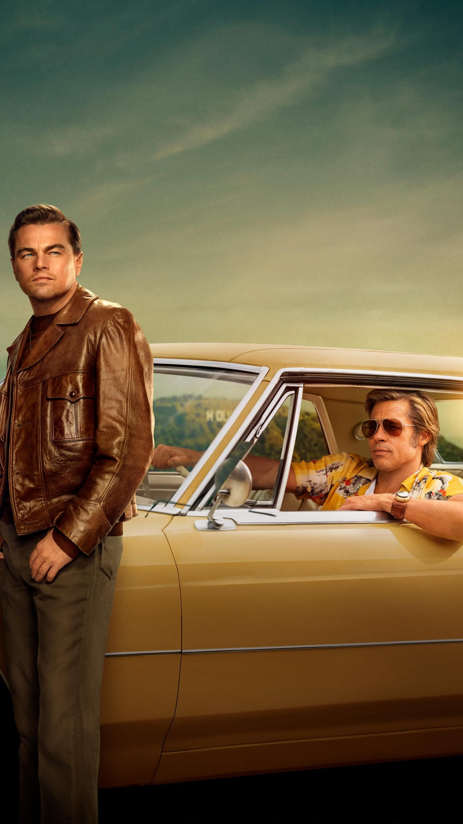 Once Upon A Time In Hollywood 2019 Phone Wallpaper In