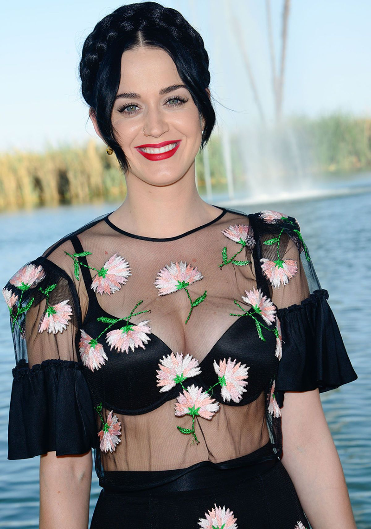 Watch Katy Perry Bounces Her Breasts While Singing video