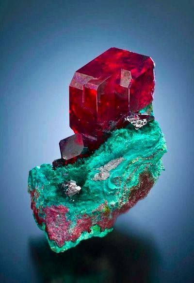 Photo of Cuprite from South West Mine, Bisbee, Cochise Co, Arizona