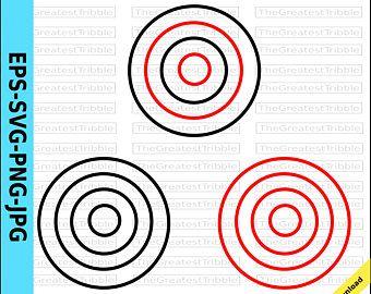 Bulls Eye Shooting Target Eps Svg Png Jpg Vector Graphic Etsy Wallpaper Website Eps Website Banner