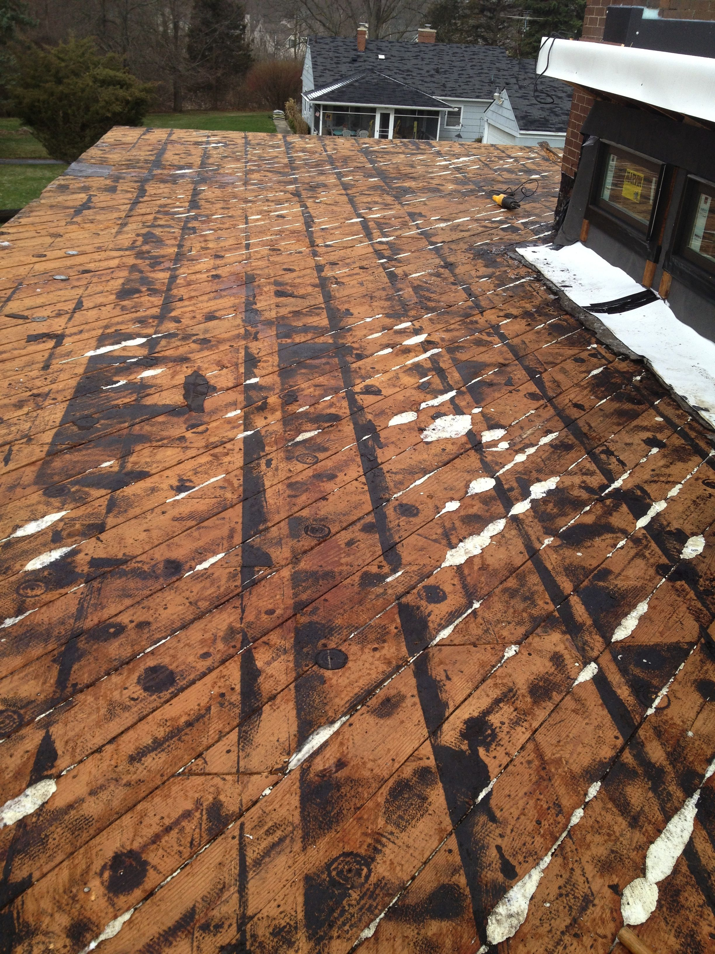 Best Exposing The Roof Deck Under The Decayed And Old Leaky 400 x 300
