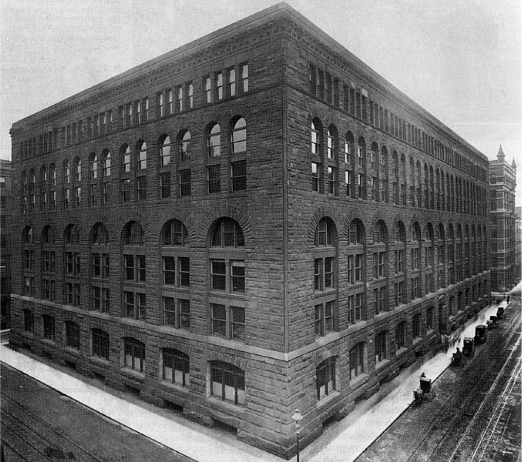 Marshall Field Wholesale Store, Henry Hobson Richardson