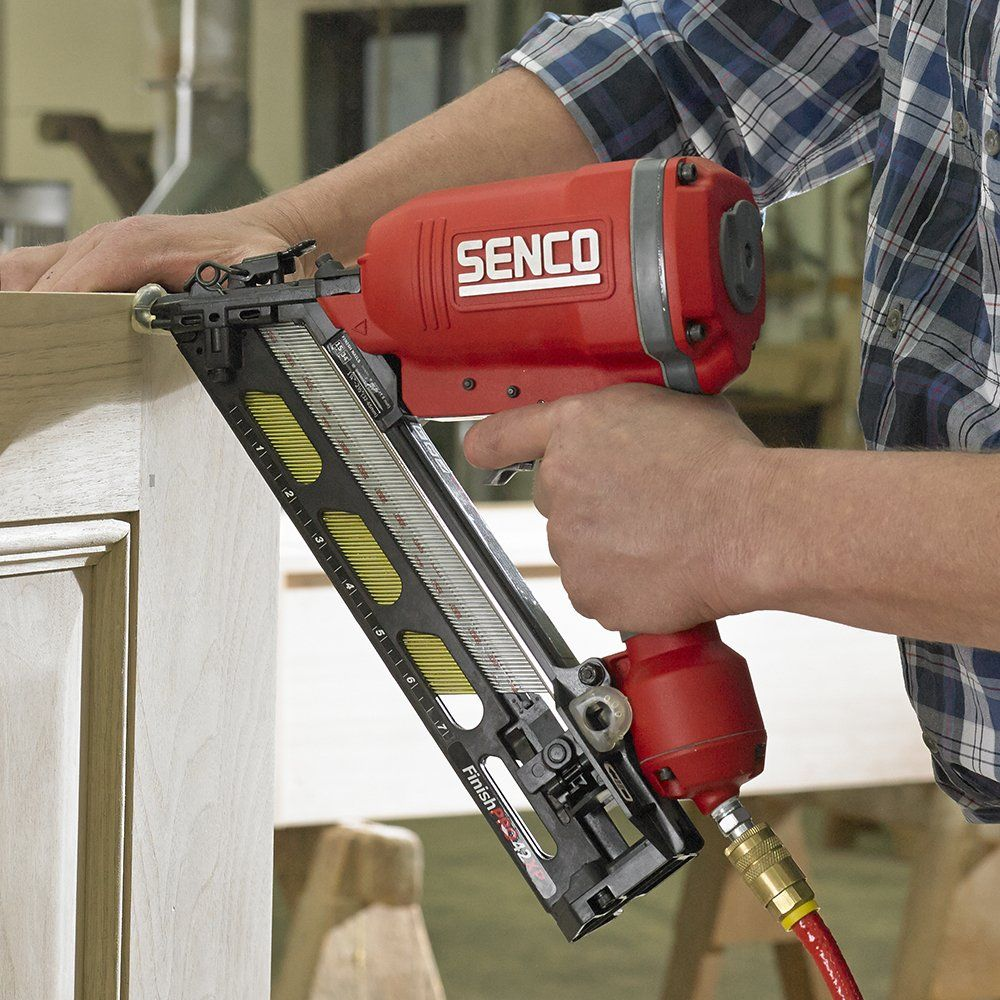 Senco 4g0001n Finishpro 42xp 15 Gauge 1 1 4 Inch To 2 1 2 Inch Finish Nailer With Case Ad Xp Ad Finishpro Senco Finish Nailer Nailer It Is Finished