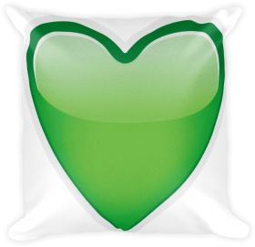 Emoji Pillow Green Heart Just Emoji Png Transparent Png Image With Transparent Background Png Free Png Images In 2020 Emoji Pillows Funny Throw Pillows Pillows
