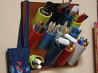 Manualidades y Artesanías | Ordenador para pared | Utilisima.com