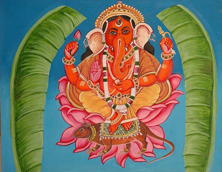 folk_painting_of_lord_ganesha_from_varanasi_surrounded_wi40.jpg (750×583)