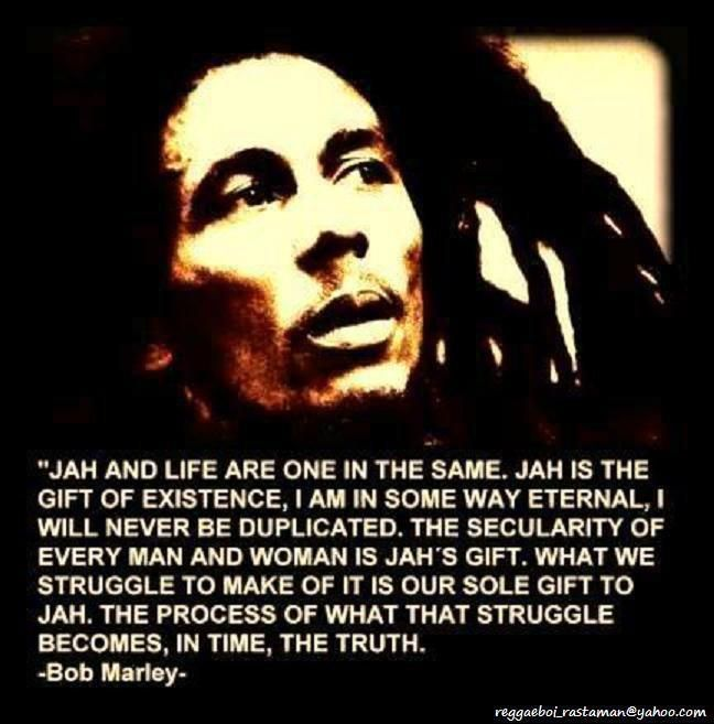 Bob Marley History Quote: R A S T A F A R I