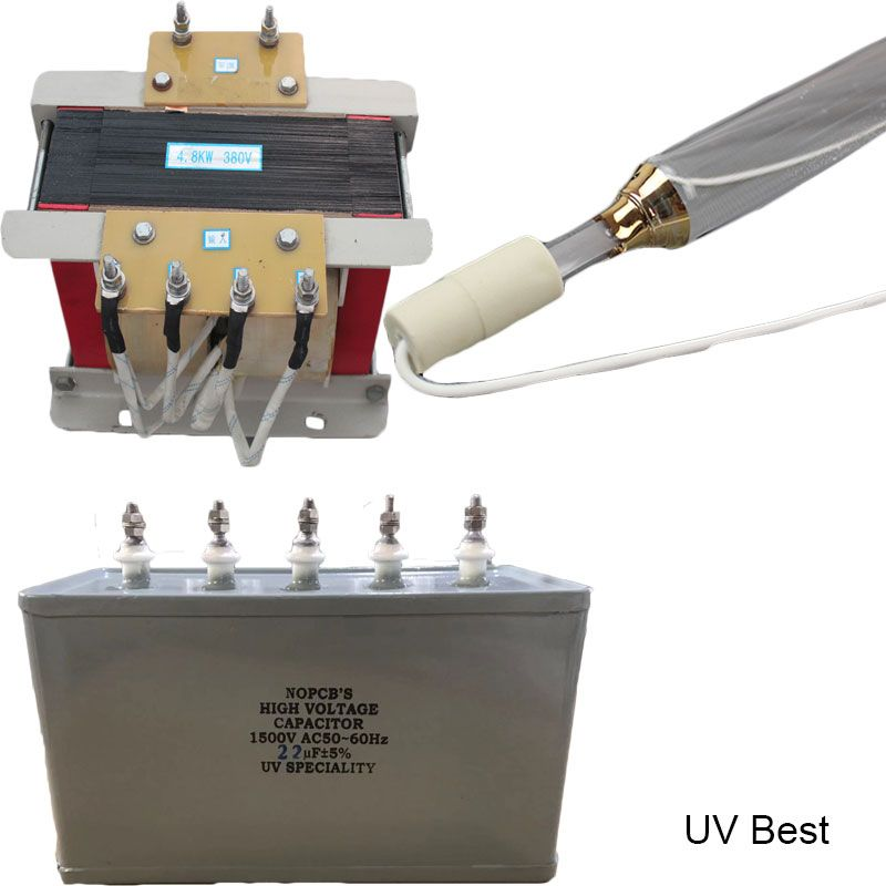 3kw 10kw Uv Lighting Source Contain Uv Lamp Uv Capacitor Uv Transformer Ultraviolet Lamp Uv Lamp Lamp