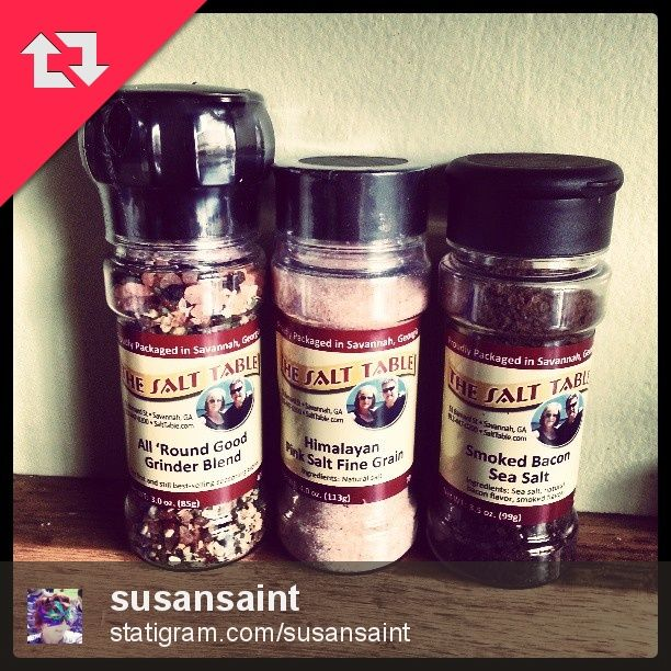 Tourgoer Susan Saint had to go back and purchase a few to take home after trying some of the salts and seasonings at The Salt Table.