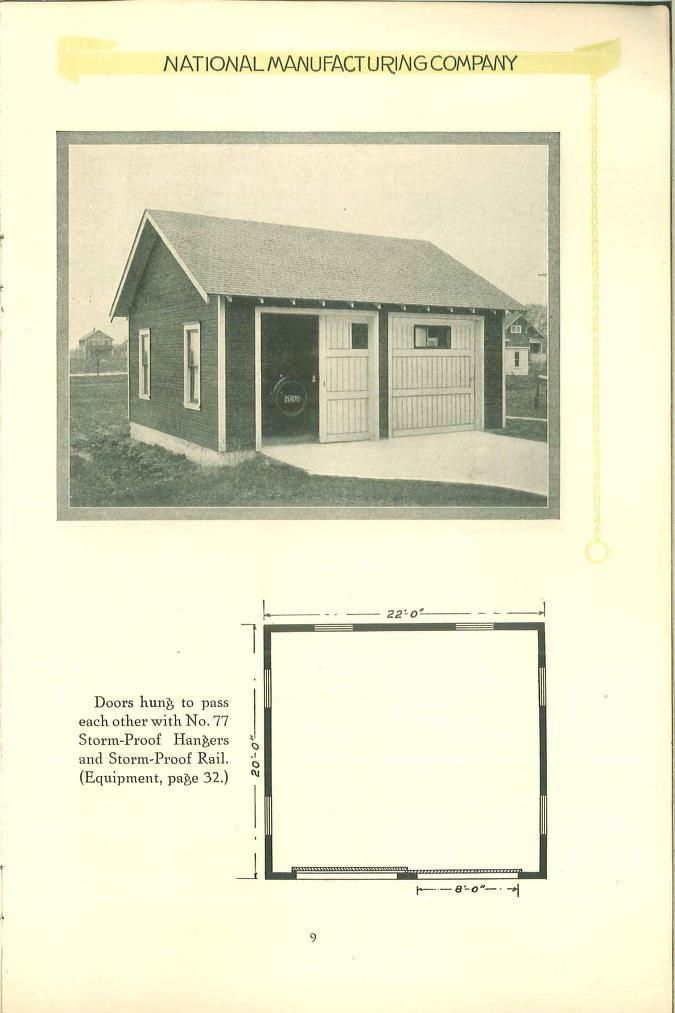 2 car garage published in \