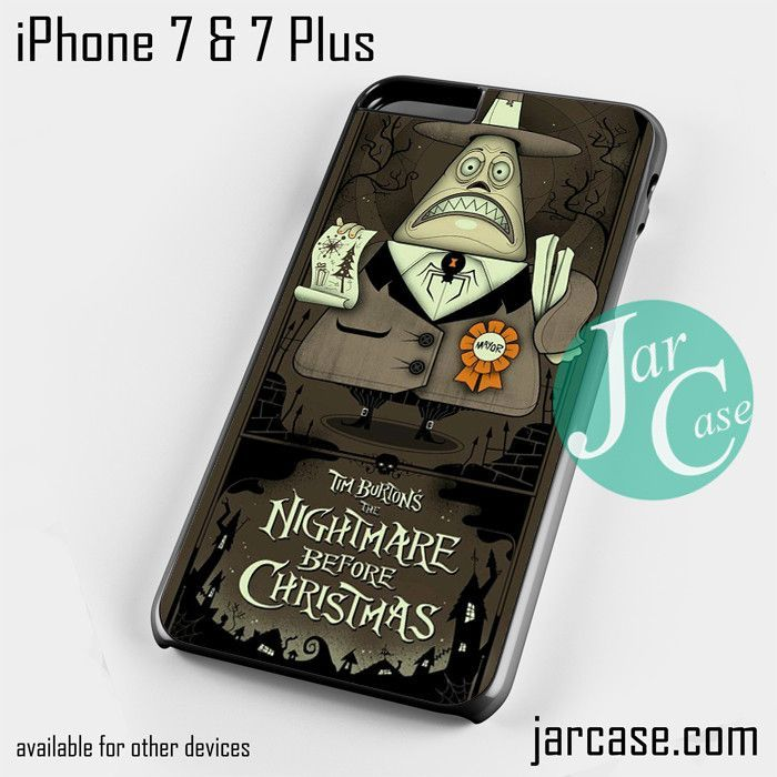 The Nightmare Before Christmas 2 Phone case for iPhone 7 and 7 Plus